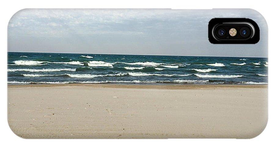 Lake Michigan IPhone X Case featuring the photograph Lake Michigan 10.20.15 by Jennifer Kohler