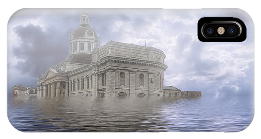 Architecture IPhone X Case featuring the photograph Lake Ontario 2115 by Roger Monahan