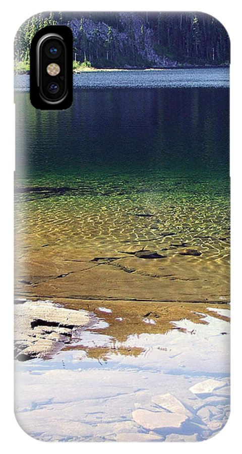 Vancouver B.c. IPhone X Case featuring the photograph Lake Washington by Robert Meanor
