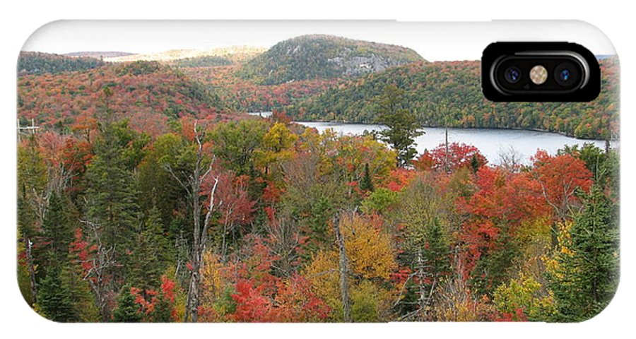 Fall IPhone Case featuring the photograph Lakeside by Kelly Mezzapelle