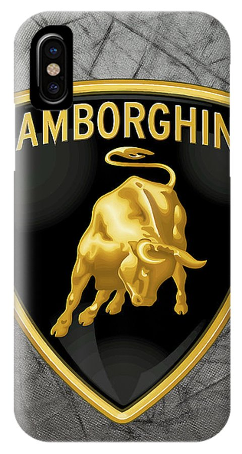 Lamborghini Logo Iphone X Case For Sale By Daniel Hagerman