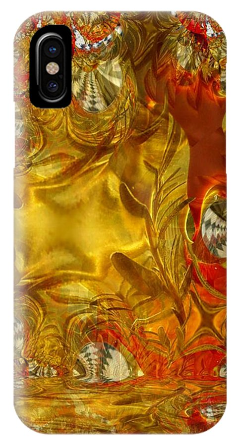 Olive IPhone X Case featuring the photograph Land Of Oil And Honey by Ron Bissett