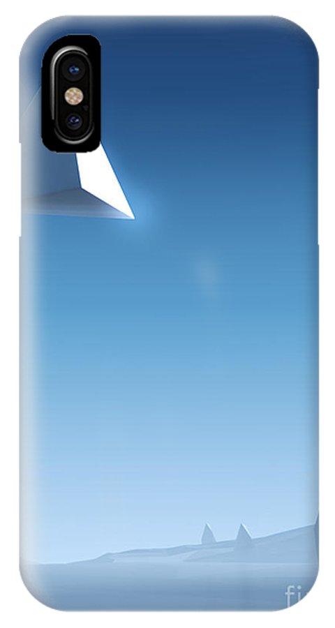 Landscape IPhone X Case featuring the photograph Landscape #2 by Pixel Chimp