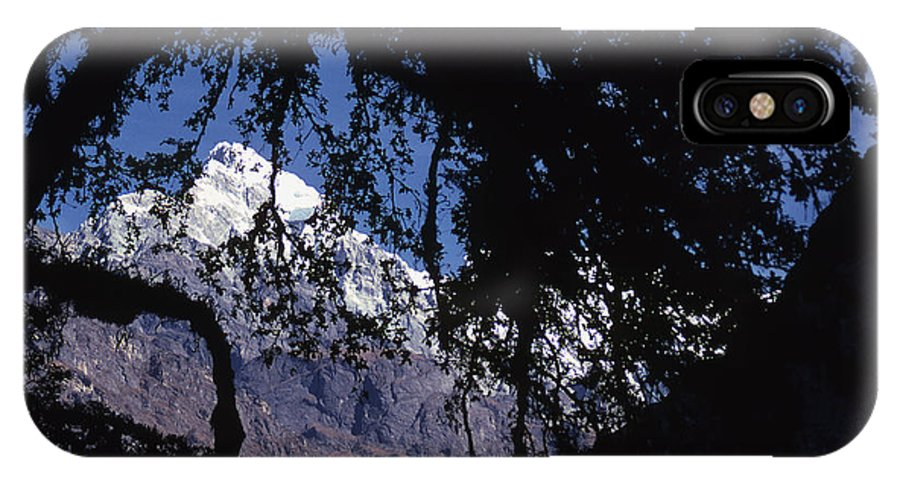 Langtang IPhone Case featuring the photograph Langtang by Patrick Klauss