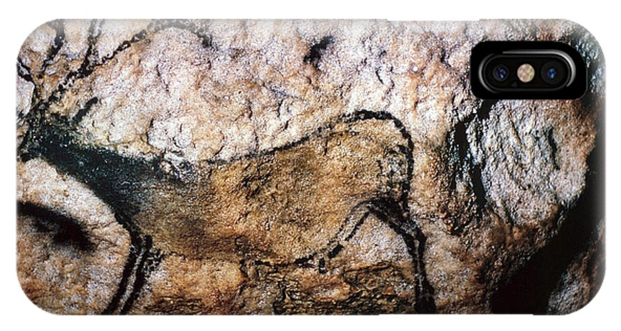 Cave IPhone X Case featuring the photograph Lascaux - Running Deer by Granger