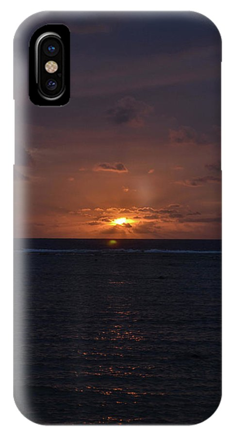 Landscape IPhone X / XS Case featuring the photograph Last Goodbye by Darlene Through Dee's Eyes