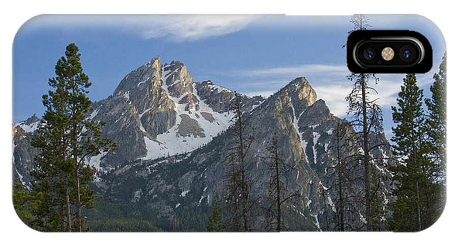 Majestic IPhone X Case featuring the photograph Last Light On Mcgowan by Idaho Scenic Images Linda Lantzy