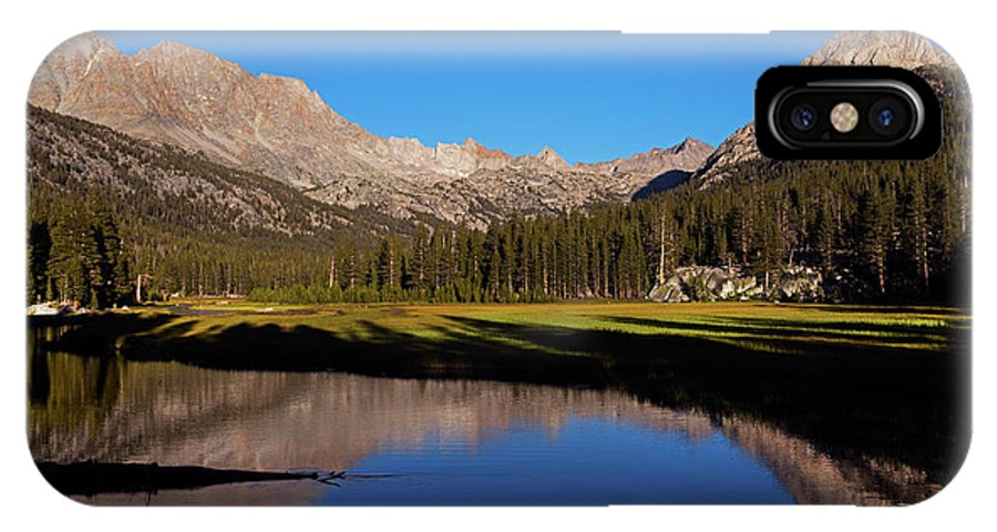 Meadows IPhone X Case featuring the photograph Late Afternoon At Mcclure Meadow by David Lunde
