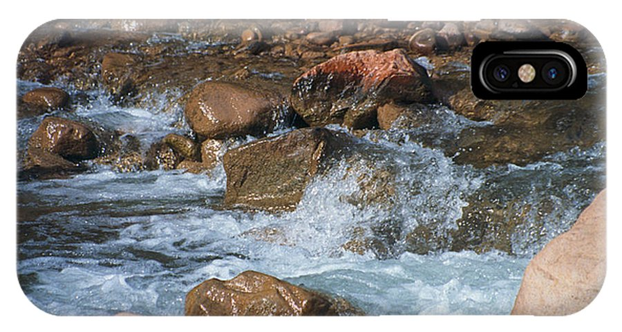Creek IPhone Case featuring the photograph Laughing Water by Kathy McClure