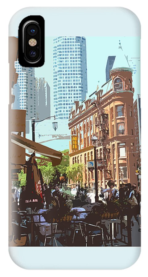 Castiron Building IPhone X / XS Case featuring the photograph Lazy Summer Afternoon by Ian MacDonald