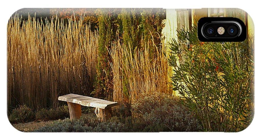 Garden IPhone X Case featuring the photograph Le Jardin De Vincent by Bel Menpes