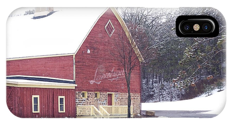 Barn IPhone Case featuring the photograph Leinie by Tim Nyberg