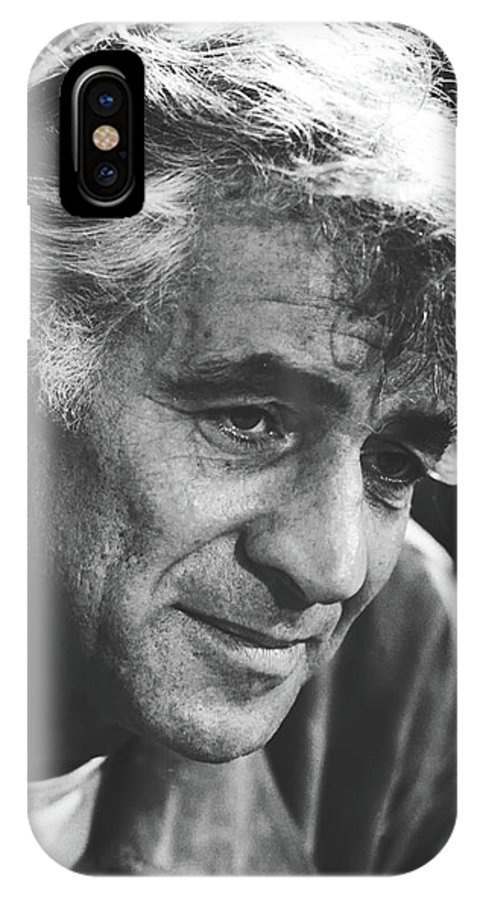 Leonard Bernstein IPhone X Case featuring the photograph Leonard Bernstein 1970 by Library Of Congress