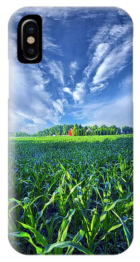 Summer IPhone X Case featuring the photograph Let Me Never Lose Sight by Phil Koch