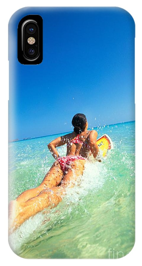 Afternoon IPhone X Case featuring the photograph Lets Go Surfing by Dana Edmunds - Printscapes