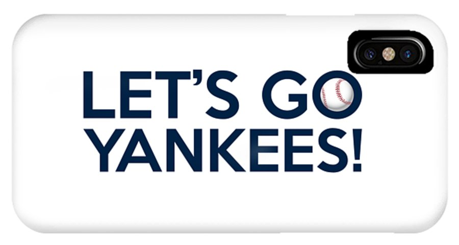 innovative design 8285e 815ac Let's Go Yankees IPhone X Case