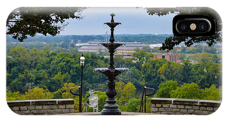 Richmond IPhone X Case featuring the photograph Libby Hill Park by Aaron Dishner