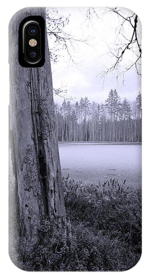 Lehtokukka IPhone X / XS Case featuring the photograph Liesilampi 4 by Jouko Lehto