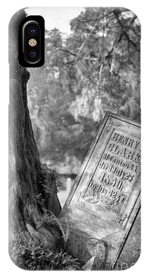 Graves IPhone Case featuring the photograph Life After Death by Richard Rizzo