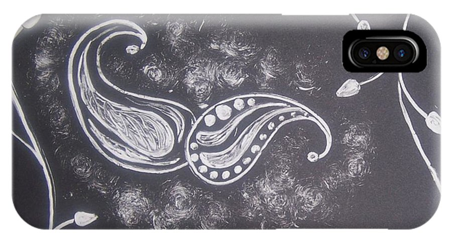 Organic IPhone Case featuring the painting Life by Emily Young