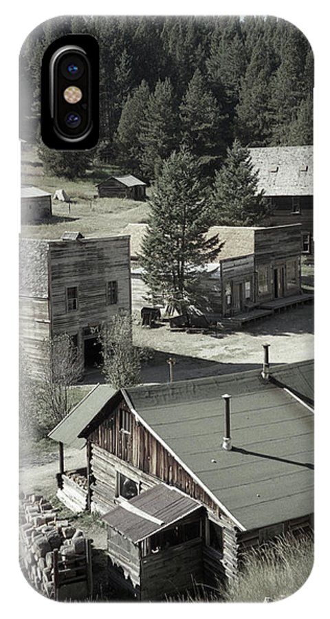Ghost Towns IPhone X Case featuring the photograph Life In A Ghost Town by Richard Rizzo