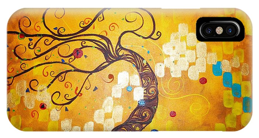 IPhone Case featuring the painting Life Is A Ball by Stefan Duncan