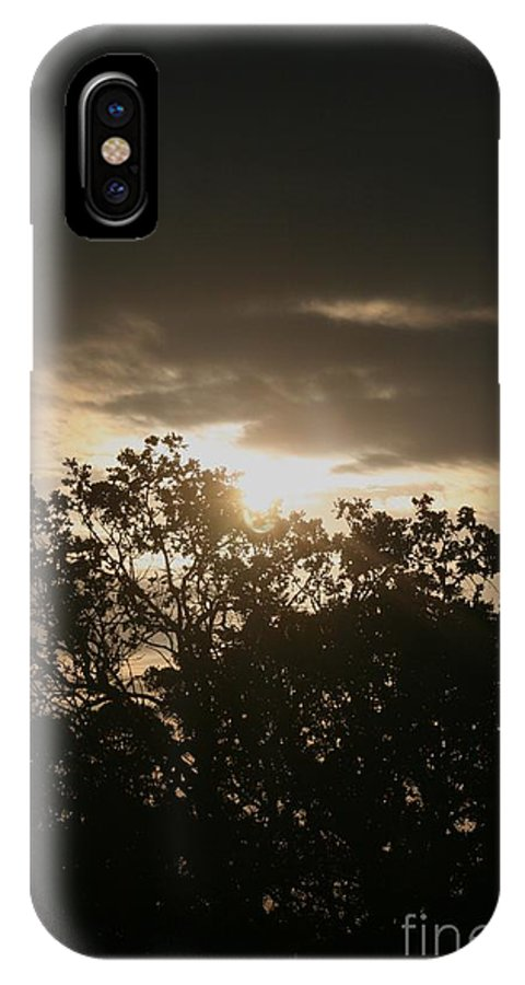 Light IPhone Case featuring the photograph Light Chasing Away The Darkness by Nadine Rippelmeyer