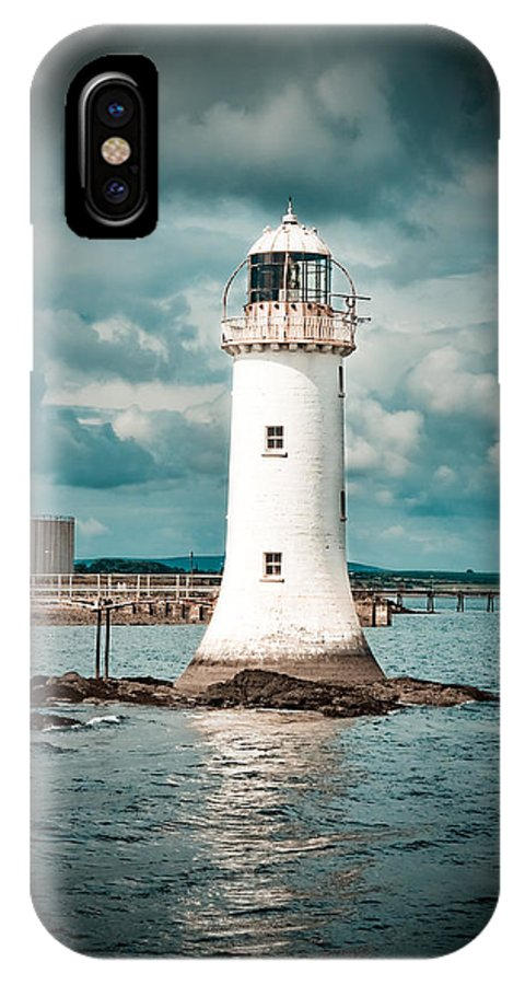 Lighthouse IPhone X Case featuring the photograph Lighthouse by Gabriela Insuratelu