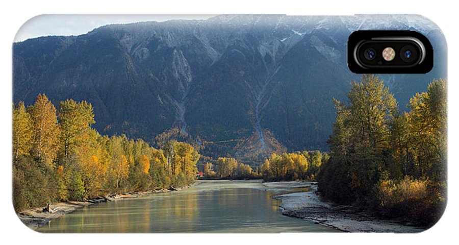 Mount Currie IPhone X Case featuring the photograph Lillooet River by Pierre Leclerc Photography