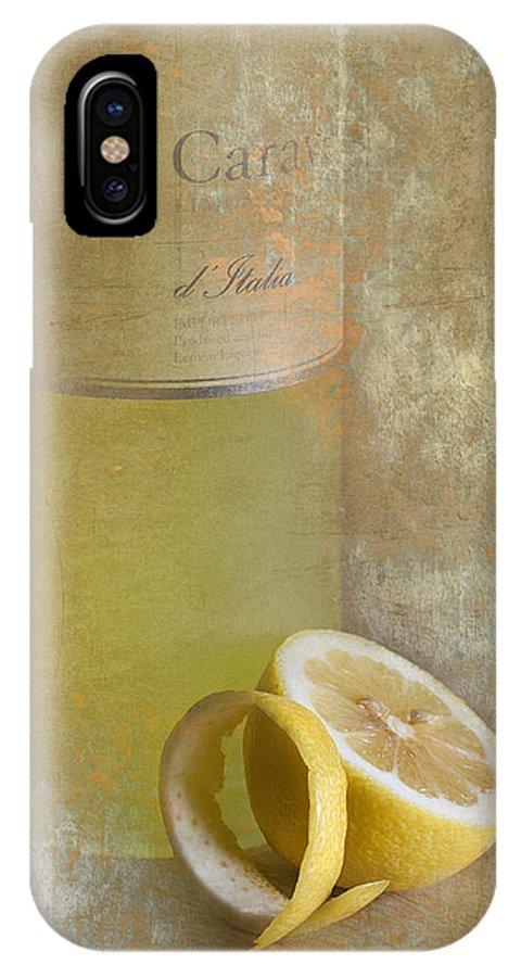 Ron Jones IPhone X Case featuring the photograph Limoncello Italiani by Ron Jones