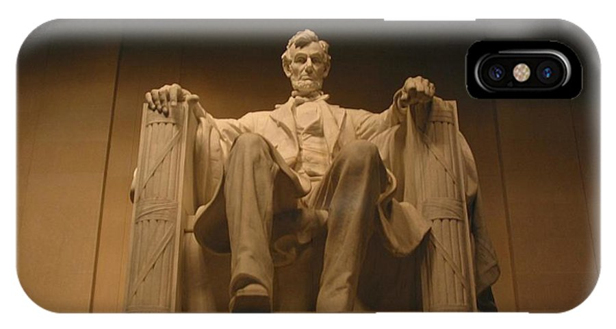 Abraham Lincoln IPhone Case featuring the photograph Lincoln Memorial by Brian McDunn