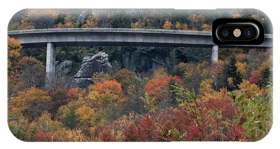 Linn Cove Viaduct IPhone X / XS Case featuring the photograph Linn Cove Viaduct by Gary W Baird