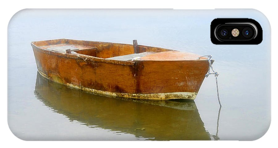 Boat IPhone X Case featuring the photograph Little Boat by David Lee Thompson