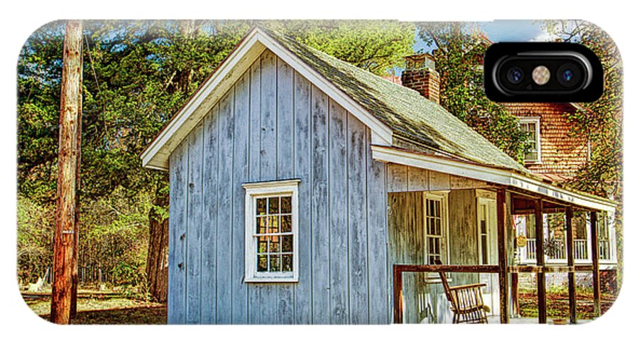 Recent IPhone X Case featuring the photograph Little Cabin In The Country Pine Barrens Of New Jersey by Geraldine Scull