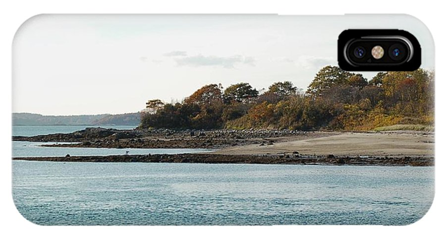 Island IPhone Case featuring the photograph Little Chebeague Beach by Faith Harron Boudreau