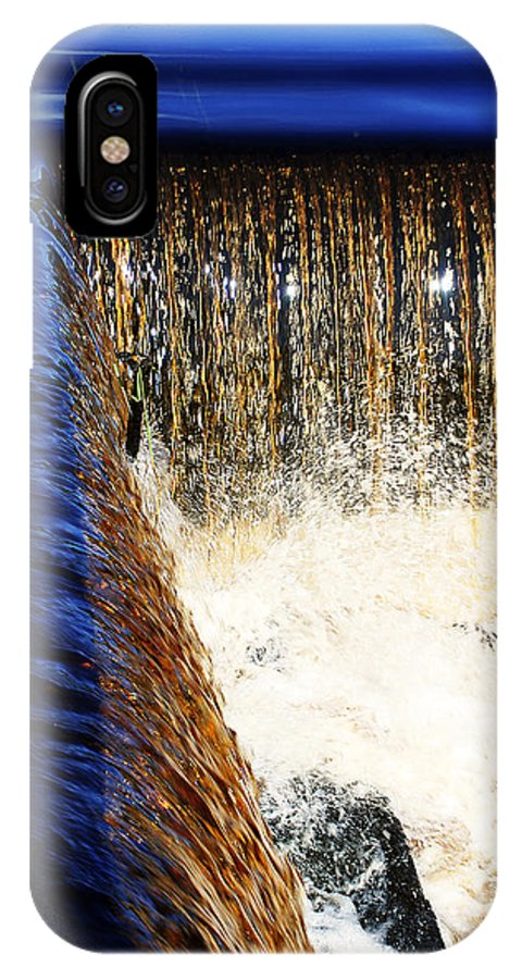 Country IPhone X Case featuring the photograph Little Falls by Mark Wiley