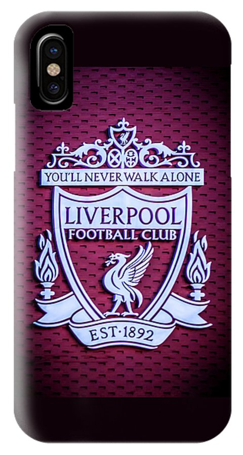 buy online 34956 b2677 Liverpool Fc Crest IPhone X Case