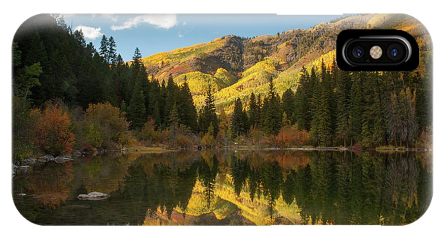 Colorado IPhone X / XS Case featuring the photograph Lizard Lake by Steve Stuller