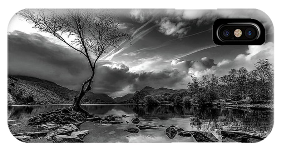 Llanberis IPhone X Case featuring the photograph Llanberis, Wales by Unsplash
