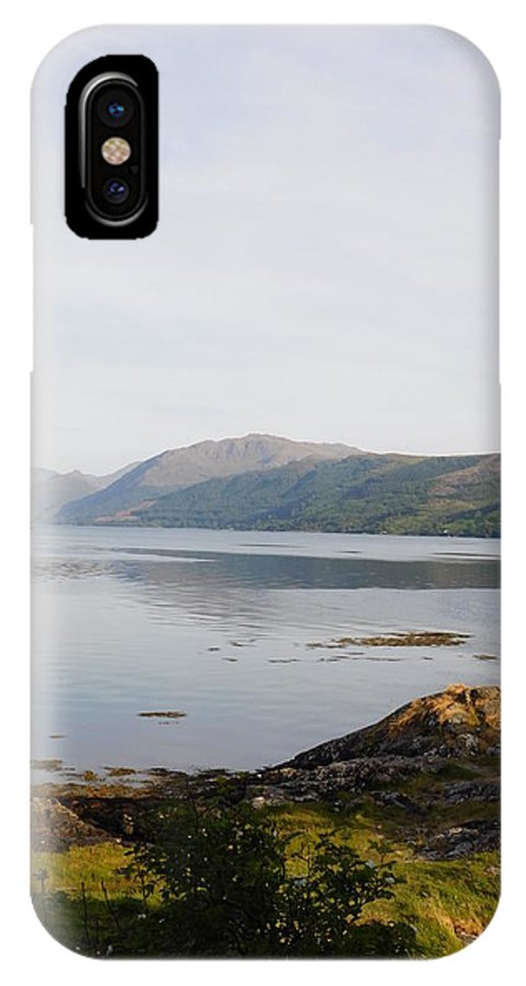 Lochcarron IPhone X Case featuring the photograph Lochcarron, Scotland by Shelby Bryson