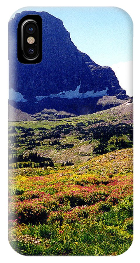 Glacier National Park IPhone Case featuring the photograph Logans Pass In Glacier National Park by Nancy Mueller
