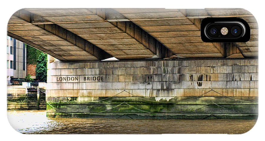 London Bridge IPhone X Case featuring the photograph London Bridge by Trena Mara