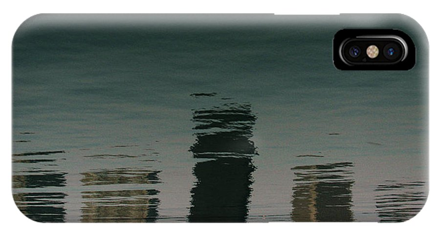 Lake IPhone X Case featuring the photograph Lonely Soul by Dana DiPasquale