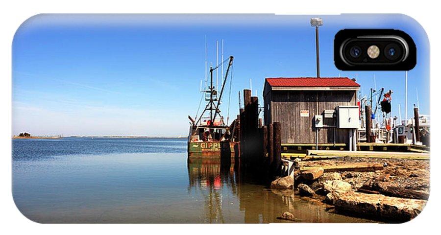 Long Beach Island Bay IPhone X Case featuring the photograph Long Beach Island Bay by John Rizzuto