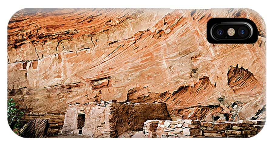 Long Canyon IPhone X Case featuring the photograph Long Canyon 05-219 by Scott McAllister