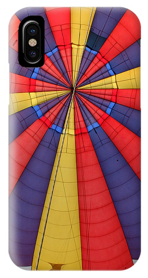 Balloon IPhone X Case featuring the photograph Looking Up by George Jones