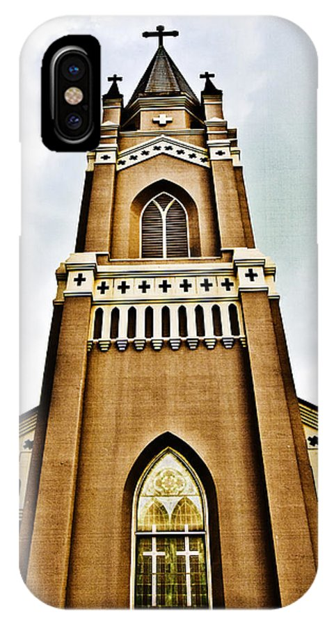 Religion IPhone X Case featuring the photograph Looking Up by Scott Pellegrin
