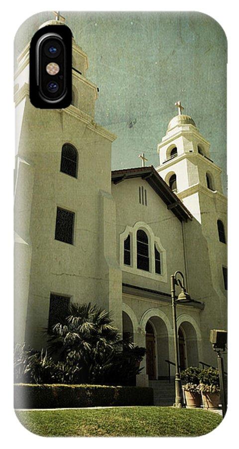 Church IPhone X Case featuring the photograph Beverly Hills Church by Scott Pellegrin