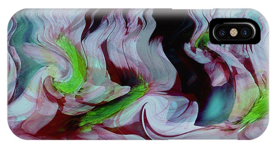 Dream Art IPhone X Case featuring the digital art Lost In A Dream by Linda Sannuti