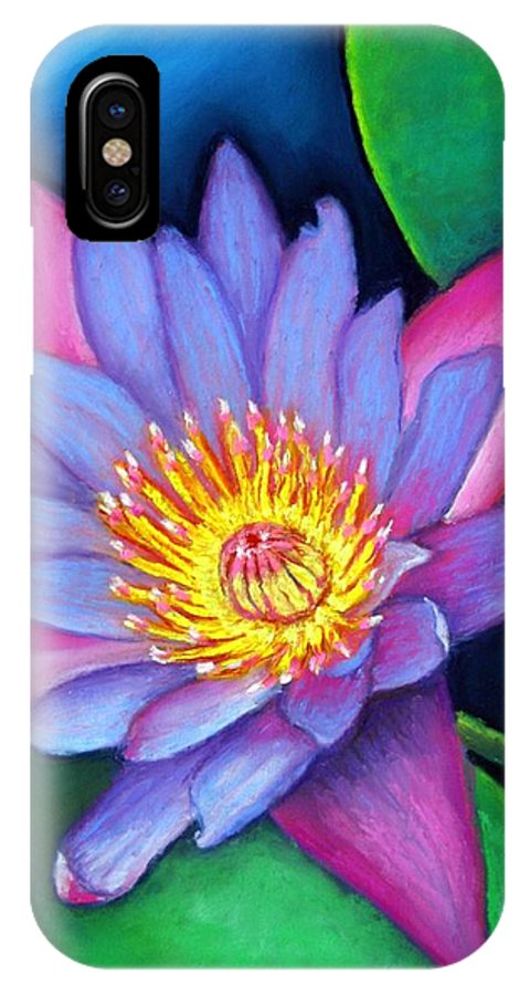 Flower IPhone Case featuring the painting Lotus Divine by Minaz Jantz